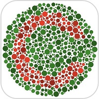 Color blindness test icon1
