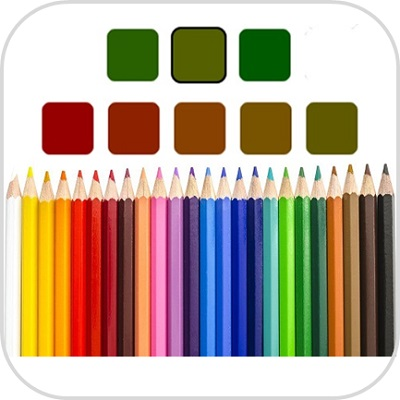 Color blindness test icon3